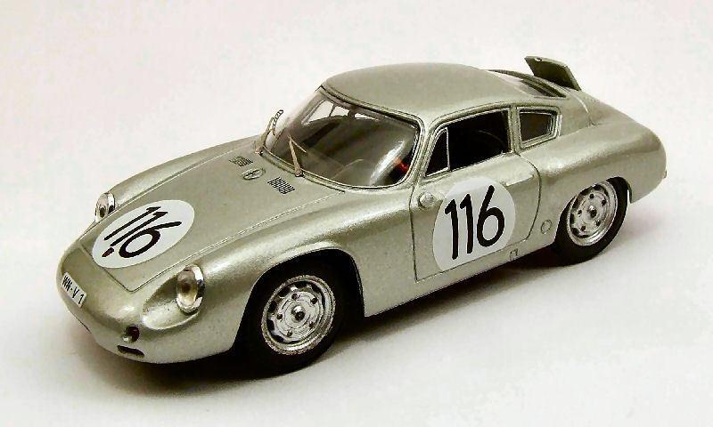 Porsche Abarth  116 6th Targa Florio 1960 Linge   Strahle   Lissmann 1 43 Model