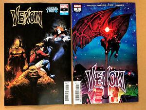 Venom #5 Fantastic Four VARIANT Marvel Comics 2018 VF-NM