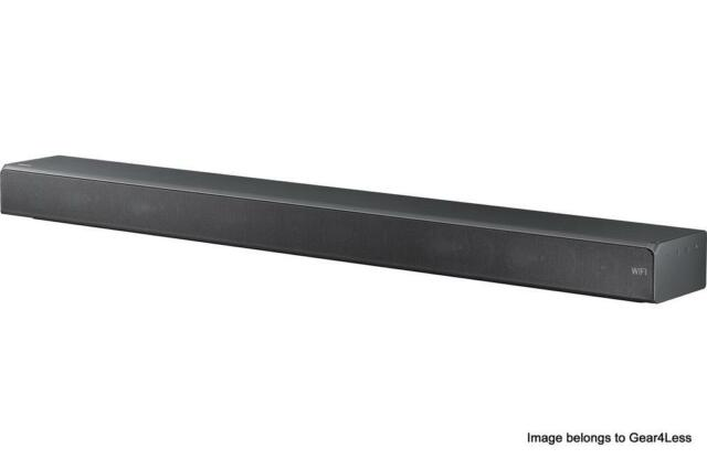 Samsung HW-MS650 Powered Home Theater Sound Bar 4K/HDR video passthrough Wi-Fi