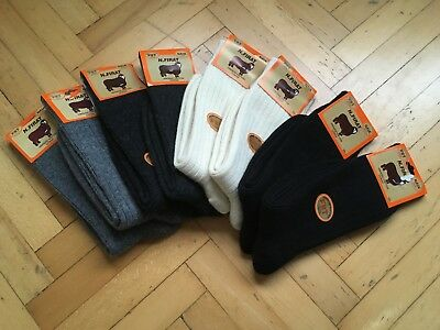New Turkish Merino Wool Men Black Winter Daily Socks-Warmly 4 Pairs Pack