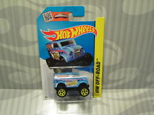 2015 HOTWHEELS ''HW OFF-ROAD'' #118 = MONSTER DAIRY DELIVERY = BLUE  int.