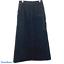 Vtg-Forenza-Size-6-Long-Denim-Jean-Maxi-Skirt-Modest-Carpenter-Pockets-Straight thumbnail 1