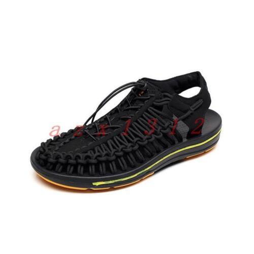 Cross Out Mens sportivi Scarpe Casual New Hollow Slingback Lace Comodi Up Sandali xXqR155p