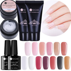 UR-SUGAR-Gel-de-Unas-Tips-Edificio-Rapido-Nail-UV-Gel-Extension-de-Consejos