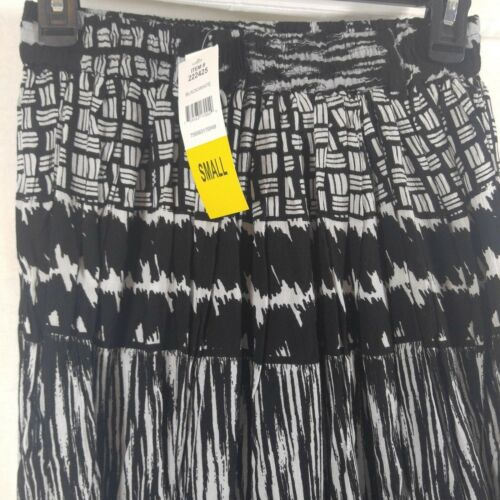 CHAUDRY KC Women/'s Full Length Boho Peasant Gypsy Skirt Lined Size Sm//Med NEW