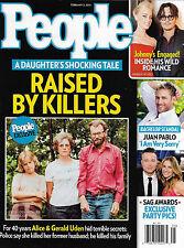 Alice & Gerald Uden, Johnny Depp, Juan Pablo Galavis - February 3, 2014 People