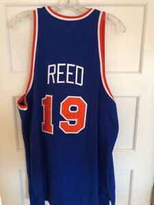 pretty nice 96b58 0165d Details about Autographed Willis Reed NY Knicks Authentic Jersey