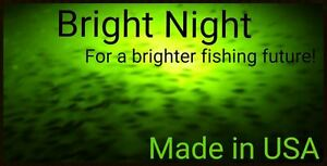 underwater fishing light 300 led green crappie submersible 15,000, Reel Combo