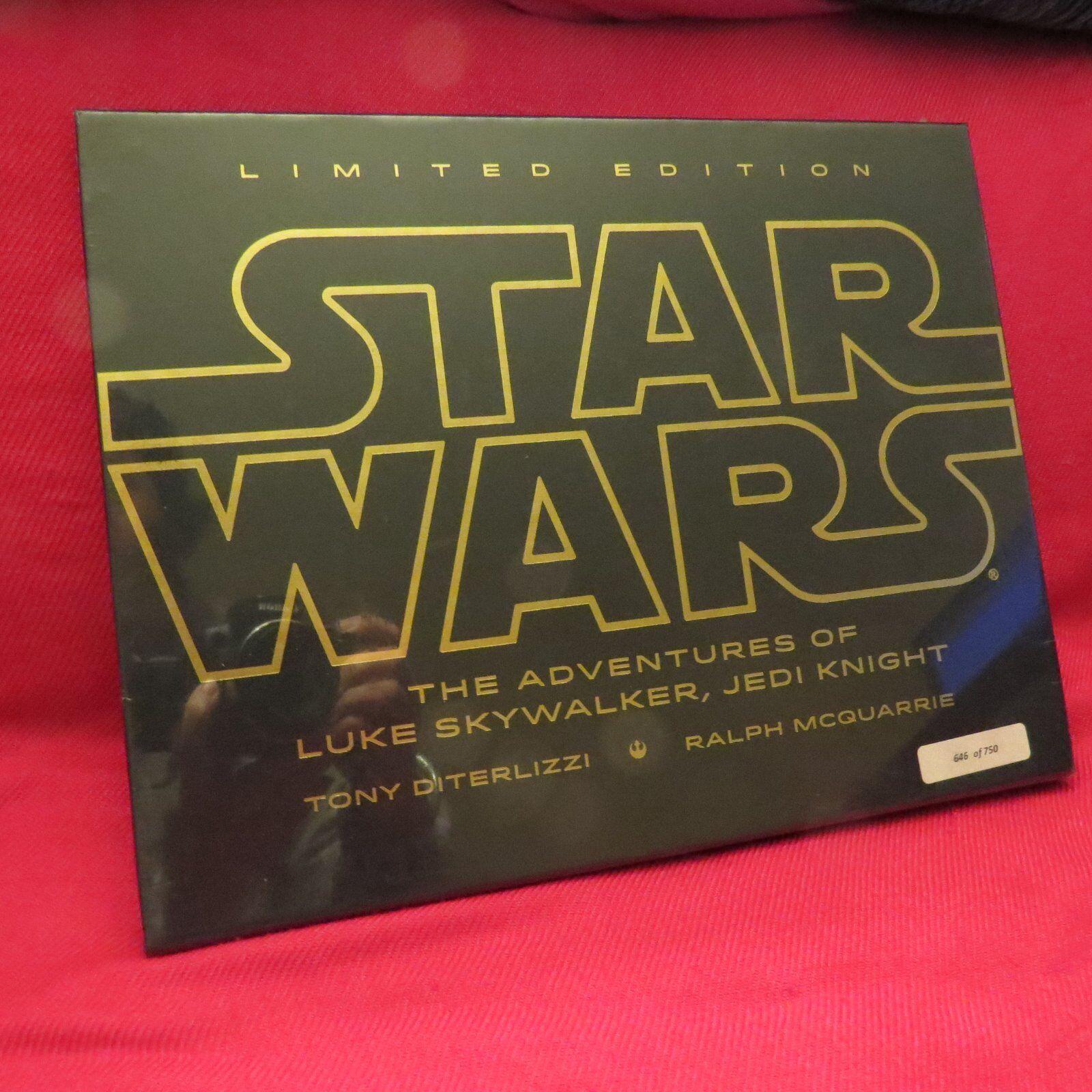 Firmado las aventuras de Luke Skywalker, Jedi Knight (edición Limitada) + Bonus