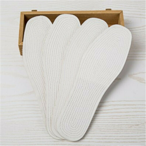Unisex Pure Cotton Shoes Cushion Pad Insoles Comfort Healthy Inserts For Shoes