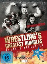 WRESTLING'S GREATEST RUMBLES 4 DVD NEU HULK HOGAN/RICK RUDE/+