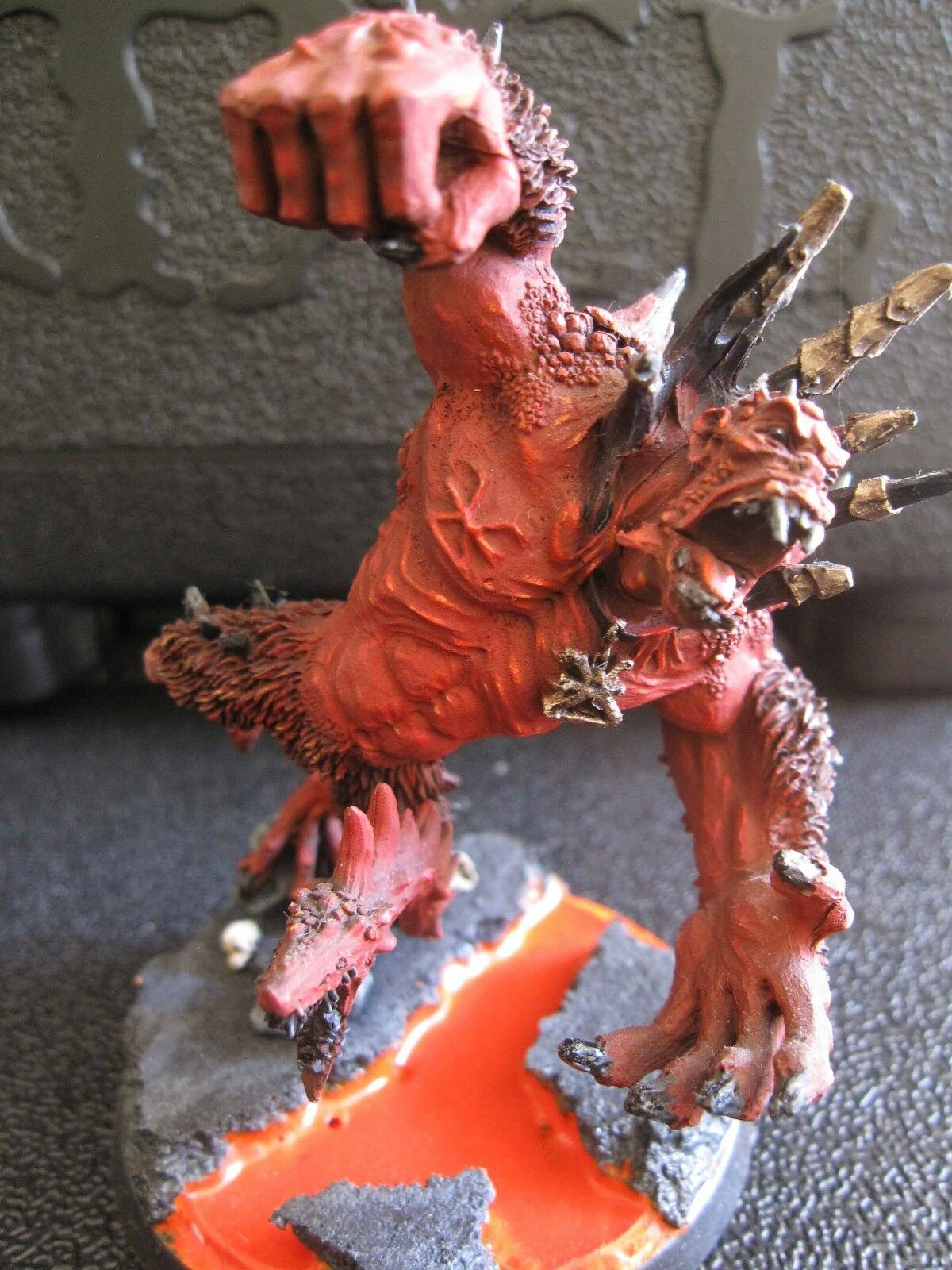 Warhammer Age of Sigmar Warriors of Chaos Scyla Anfingrimm painted