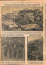South Africa Artillery General Botha General Dewet /Garibaldi /Fontenoy WWI 1915