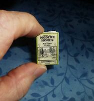 Sears House Kit Catalog 1920's Dollhouse Miniature Book 12 Pgs 1:12 Scale