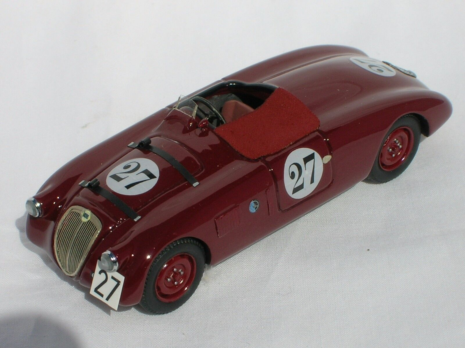 Kit Lancia Aprilia Spyder Zagato  27 Tourist Trophy 1938 - IV Model Factory 1/43