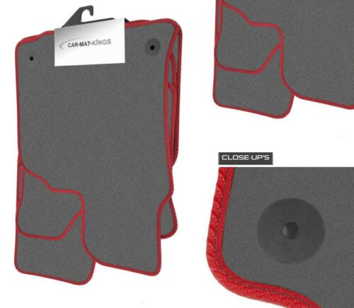 Mercedes A Class 2005-2012 Grey Velour Tufted Tailor Fitted Car Mats