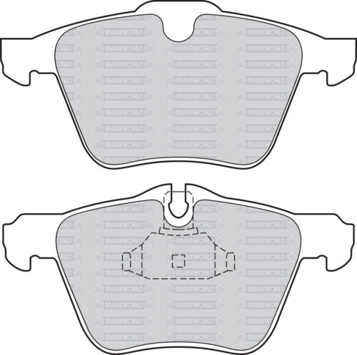 OEM SPEC FRONT DISCS AND PADS 355mm FOR JAGUAR XJ 3.0 TWIN TD 275 BHP 2010