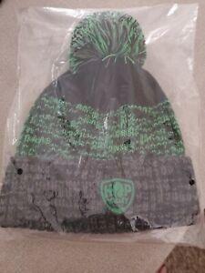 New Hop Valley beanie hat with pom pom
