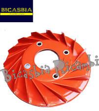7743 - VENTOLA VOLANO STATORE PLASTICA ROSSA VESPA 150 SPRINT GL VBA1T VBA2T