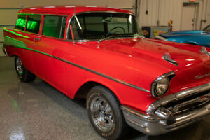 REDUCED FOR QUICK SALE Beautiful 1957 2dr Belair Wagon