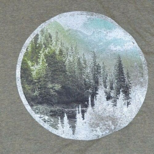 Goods For Life Graphic T-Shirt Men/'s Sonoma Tee Nature Theme Hike Camp Outdoor