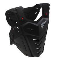 Motorcycle Back Chest Protector Body Armor Atv Street Bike Vest Guard Deflector