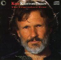 Kris Kristofferson - Legendary Years [new Cd] Uk - Import on sale