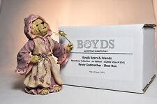 Boyds Bears: Beary Godmother - 1st Edition 1E/8065 - # 3241 - Shoe Box