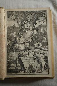 Jan Baptista Wellens and Vlaming Dichtlievende uitspanningen 1710 gravure Goeree