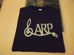 RETRO-T-SHIRT-SYNTH-DESIGN-ARP-2600-G-CLEF-S-M-L-XL-XXL