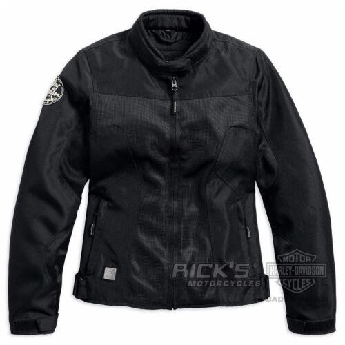 "Ricks Harley-Davidson Damen CE-Motorradjacke /""PARKWAY/"" Mesh 97220-17EW"