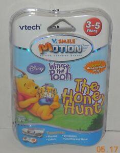 DISNEY Winnie the Pooh THE HONEY HUNT 3-5 YRS VTech V.SMILE Motion Cartridge