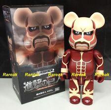 Medicom 2014 Be@rbrick WWT Hulk Hogan 400/% Hulkamania Bearbrick 1pc