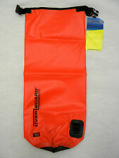 New 12 Liter Red Overboard Water Proof Canoeing Kayaking Water Sports Dry Bag