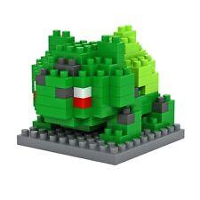 Bloques nano bloques de construcción-Pokemon Bulbasaur-Juguete de dinero de bolsillo-más instore