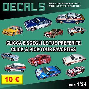 DECALS-repro-Alfa-Romeo-Fiat-Lancia-Ford-Bburago-Burago-Polistil-1-24-1-24