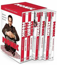 Monk:The Complete Series(DVD 32-Disc Set) Seasons 1-8  Visa/MC Pay only
