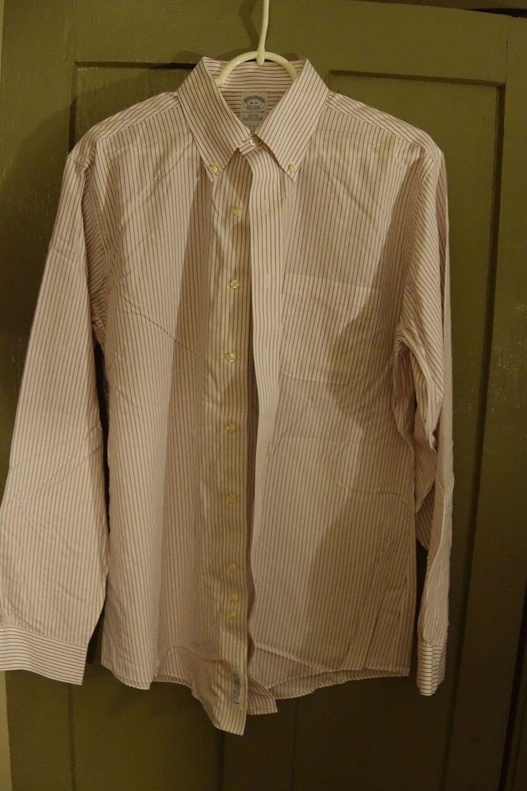 Lot of 4 Brooks Bredhers Dress Shirts Mens Sz 16 34 35 Medium
