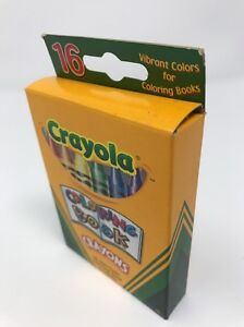 Coloring Book Crayons 16 Count Crayola Non Toxic Assorted Vibrant ...