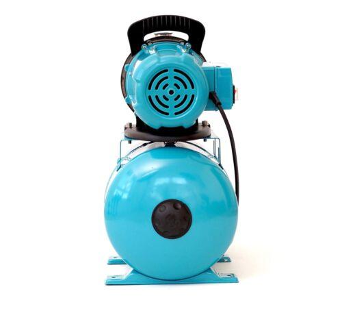19L Hauswasserwerk Gartenpumpe Teichpumpe Brunnenpumpe 1200W TÜV Vorfilter