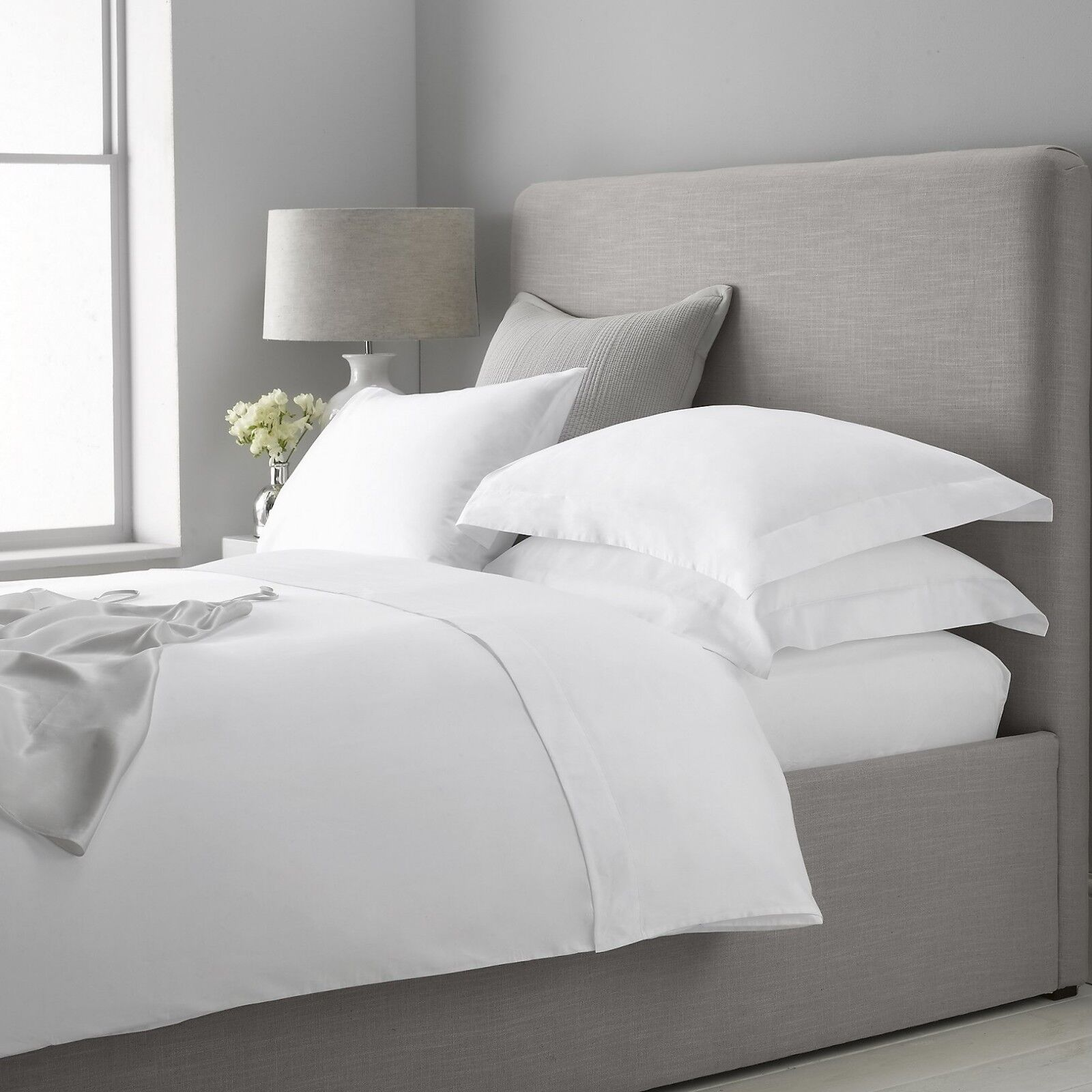 NEW SUPER KING PURE EGYPTIAN COTTON FITTED SHEET IN PURE Weiß 800 THREAD COUNT