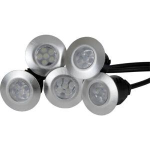 New Led 12v Deck Light Ip65 Cool White 6000k Uk Seller Freepost