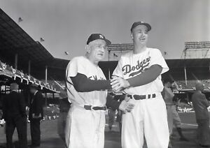 Casey-Stengel-1956-WS-Yankees-vs-Dodgers-Ebbets-Original-Photo-Negative-4x5