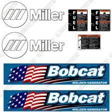 Miller Bobcat 250 Decal Kit Generator Decals Replacement Stickers 7 Year Vinyl