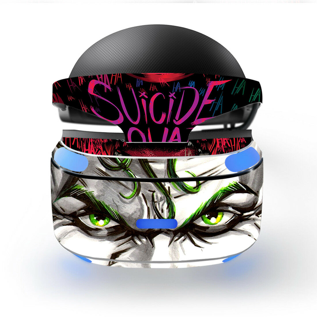Details about ps vr virtual reality skin sticker decal vinyl protector joker suicide squad