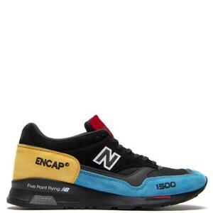New-Balance-1500-Made-In-UK-England-Black-Blue-Yellow-Men-Lifestyle-M1500UCT