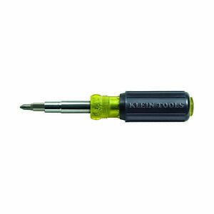 Klein Tools 32500 11-in-1 Multi-Bit Screwdriver / Nut Driver, Multi-Purpose