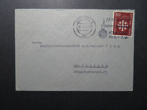 Germany-1956-KOLN-Event-Cover-Better-Issue-Z12225