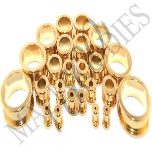 V125-Screw-on-fit-Gold-Flesh-Tunnels-Ear-Plugs-Earlets-14G-2-034-38-41-45-50mm