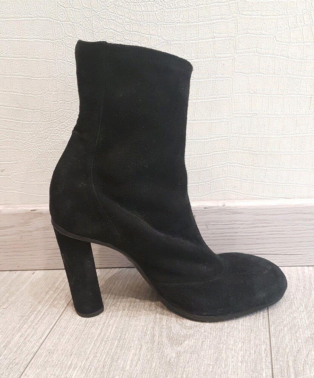 Hermes suede shoes escapins black size 38 hermes shoes 38 heel 10cm